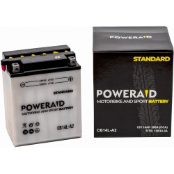 AKUMULATOR POWERAID 12V 14AH/145A CB14L-A2